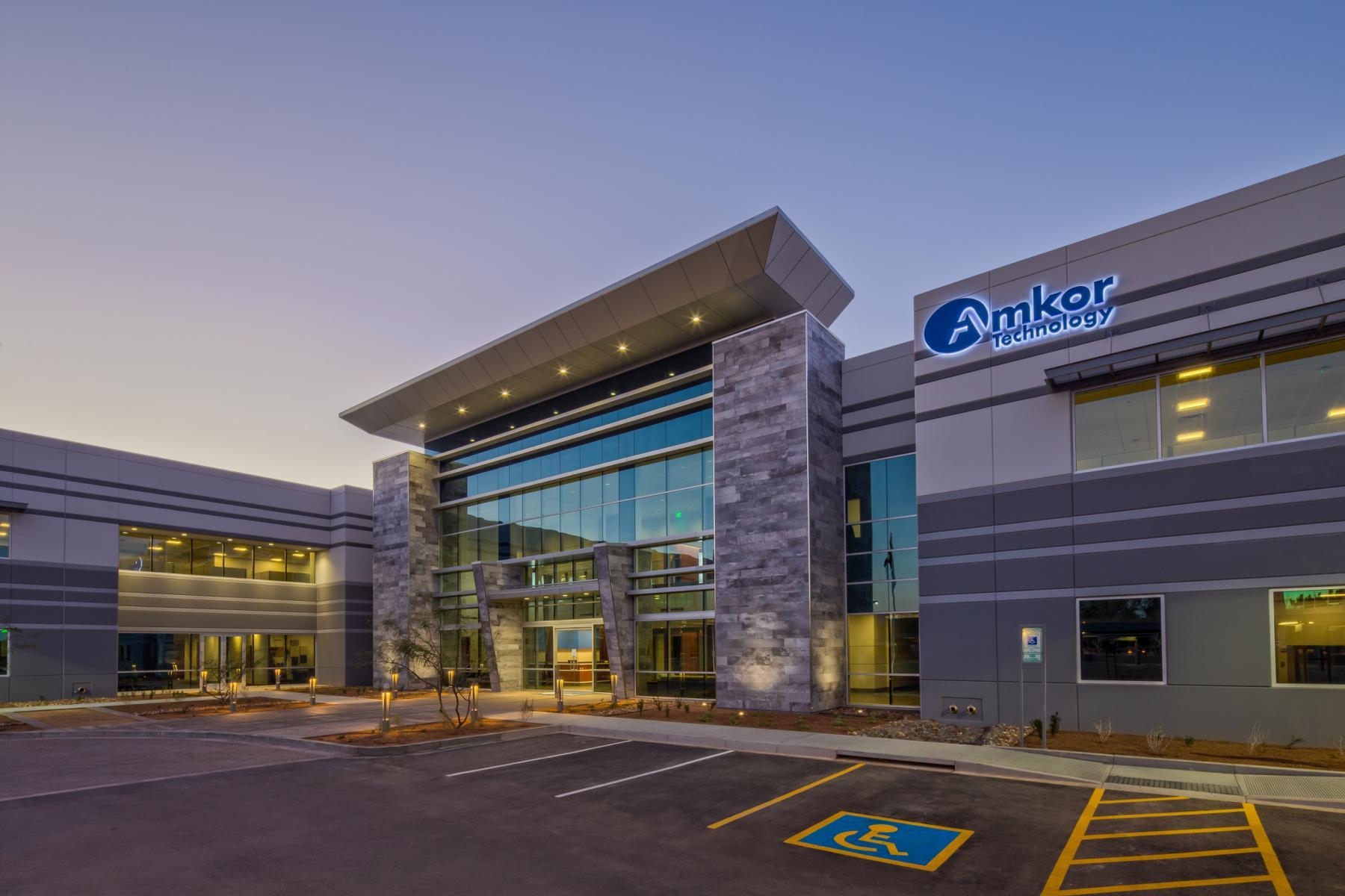 Amkor Corporate Headquarters Ryan Companies