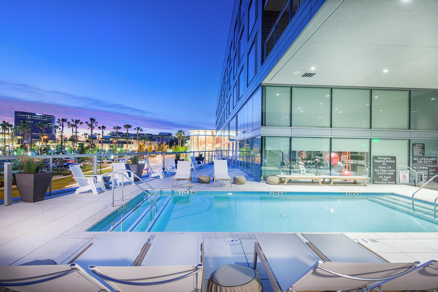 Ac marriott ryan companies - Menzies hotel irvine swimming pool ...