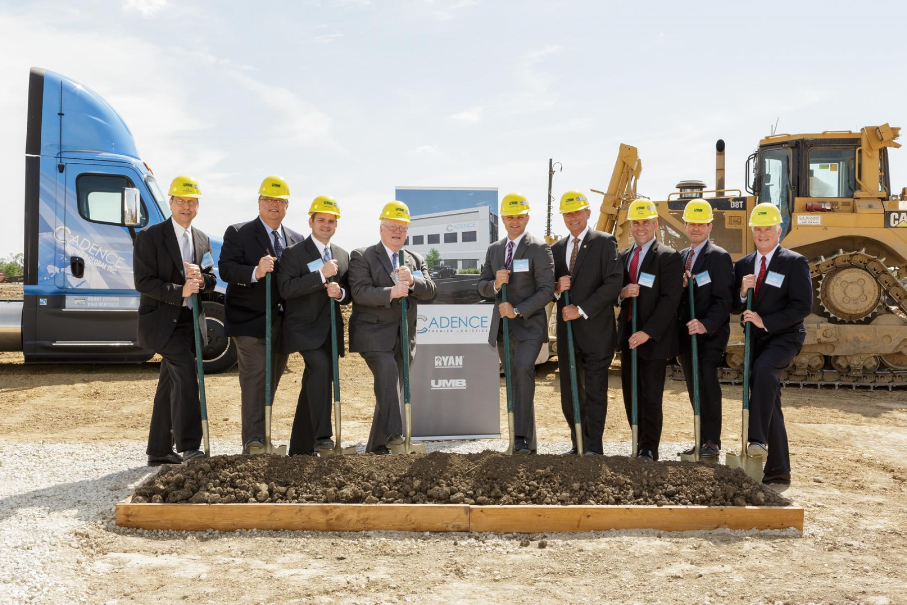 Cadence Premier Logistics Breaks Ground for New HQ/Warehouse