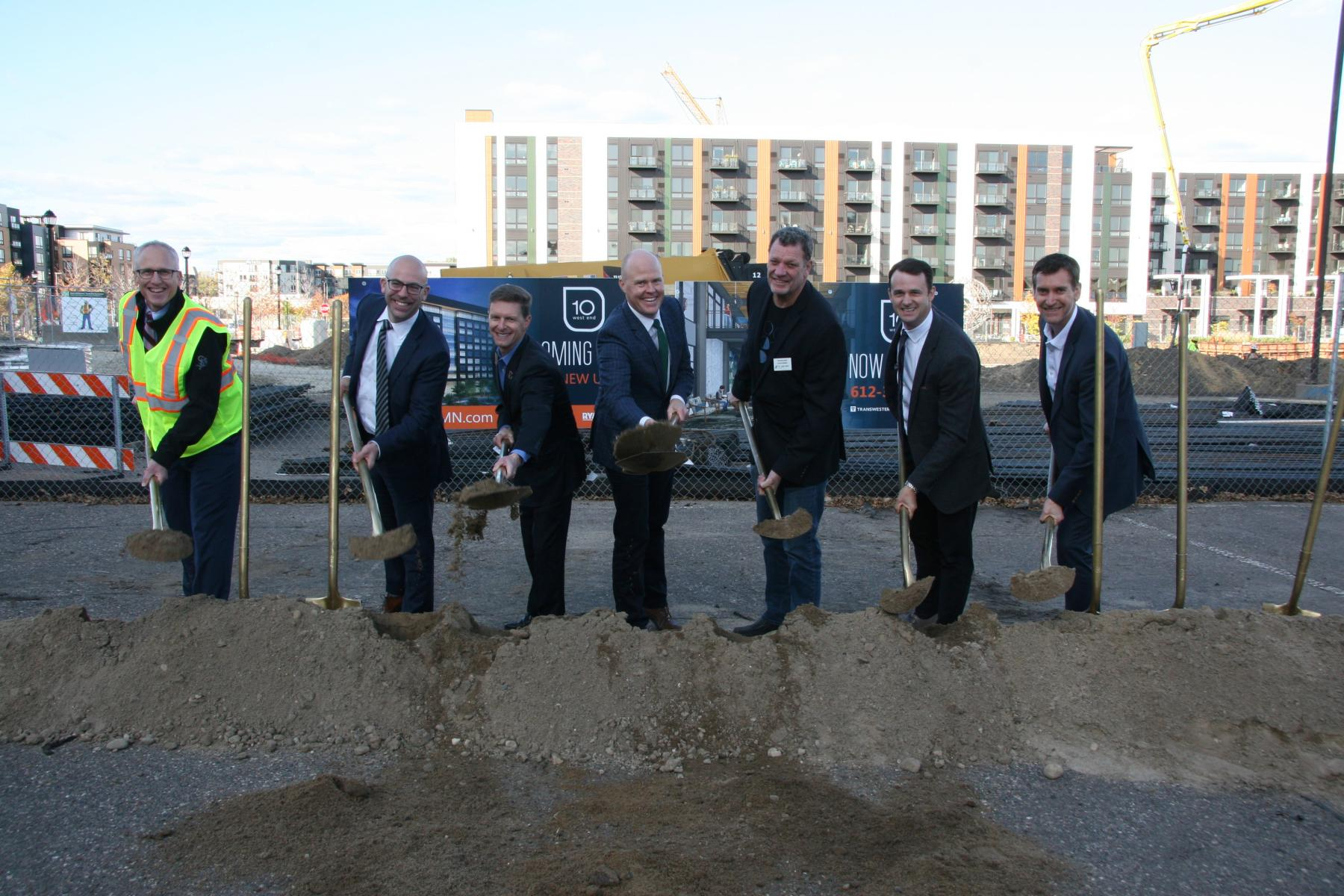 10 West Groundbreaking