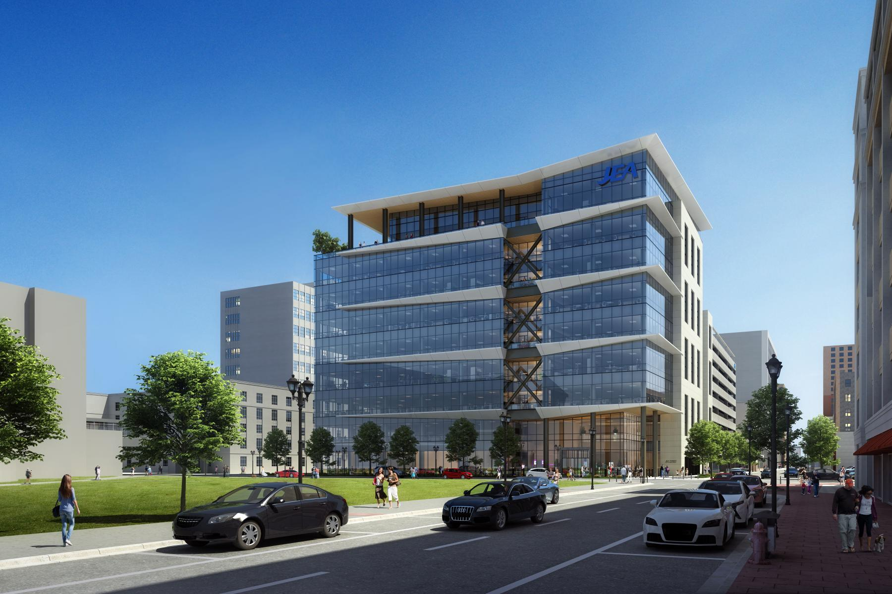 JEA Dowtown Headquarters Rendering