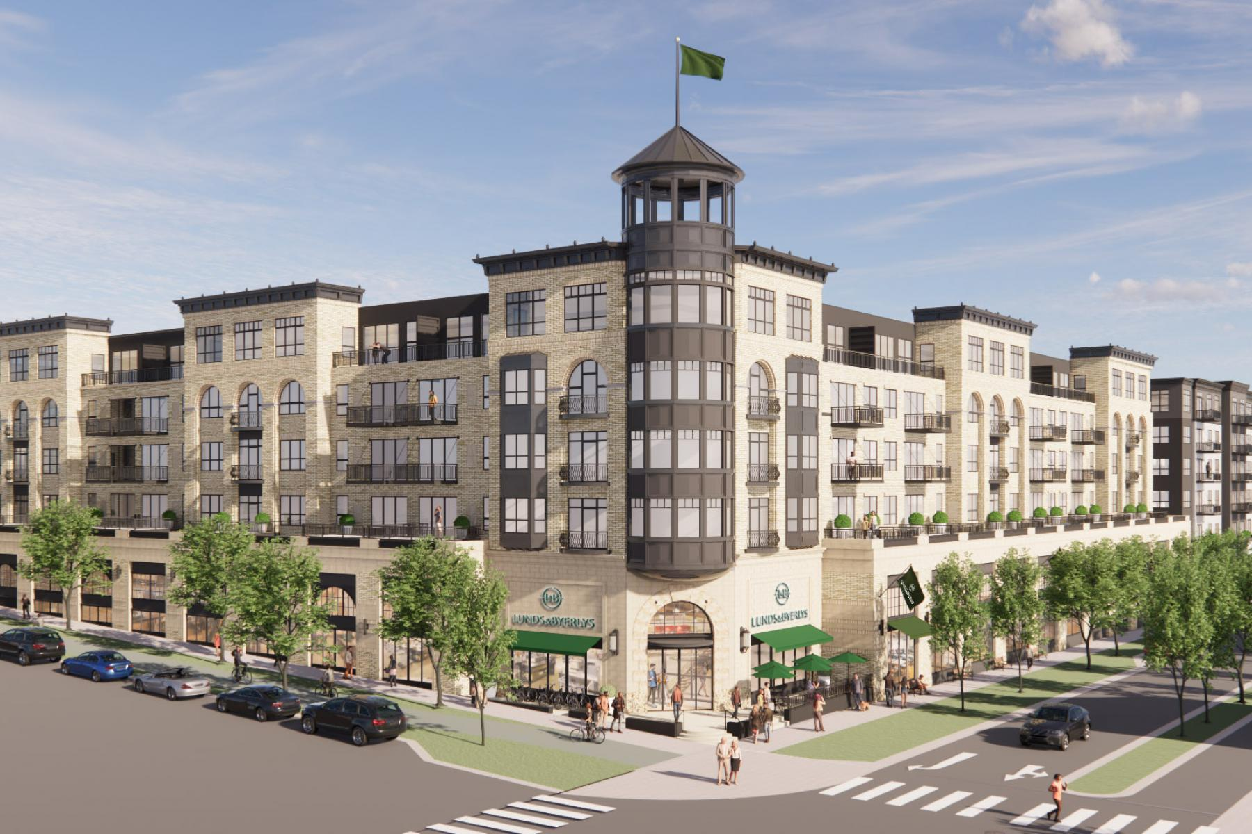 Lunds and Byerlys to Anchor Highland Bridge Development in Saint Paul with Ryan Companies