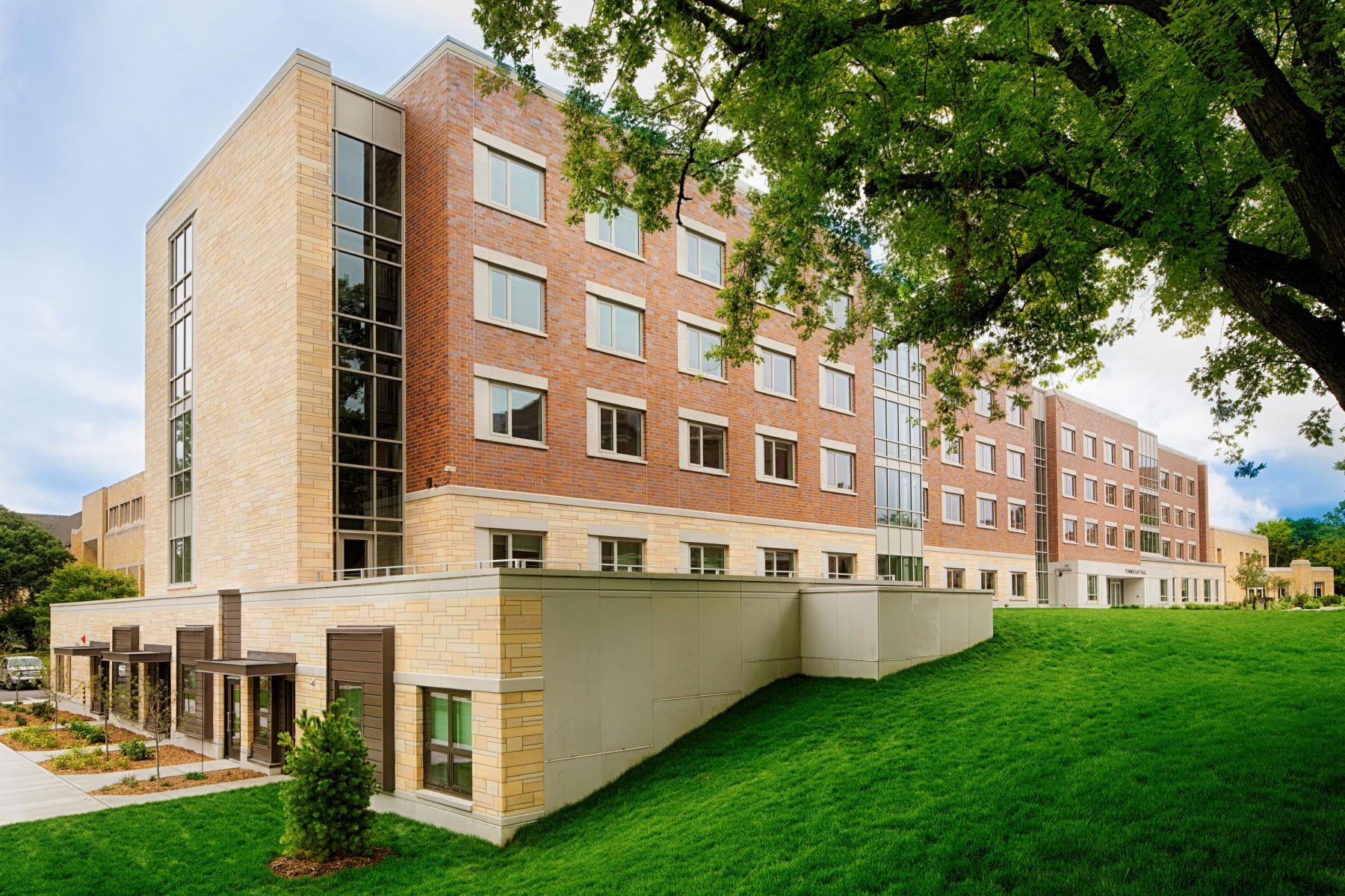 Tommie East Residence Hall, LEED v4 Platinum, University of St. Thomas, Ryan Companies