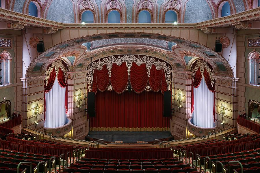 Paramount Theater Stage