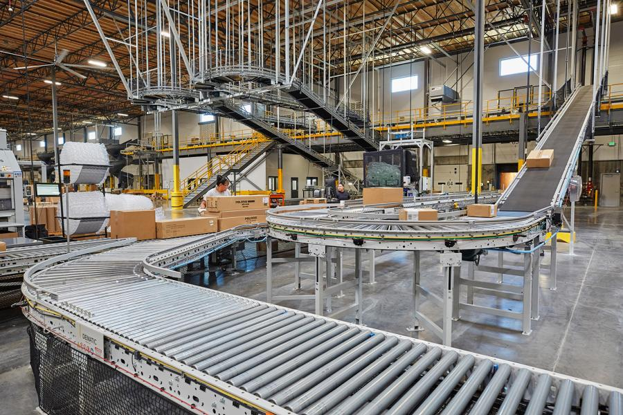Polaris Multi-Brand Distribution Center Package Conveyor