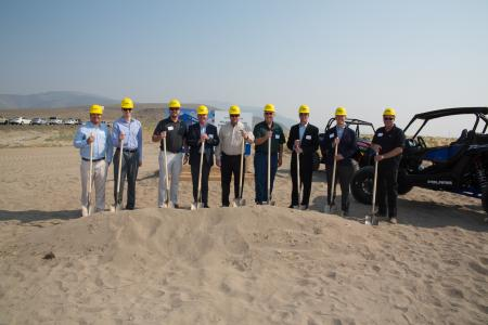 Polaris Industries' Groundbreaking Fernley, NV
