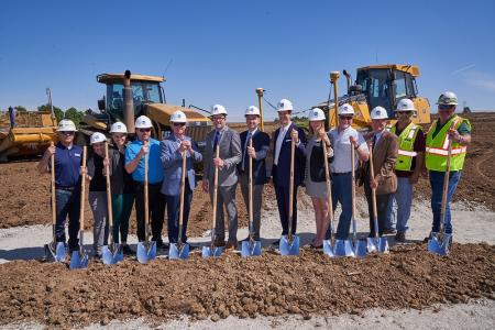 Ryan Companies Breaks Ground with Kroger and Ocado