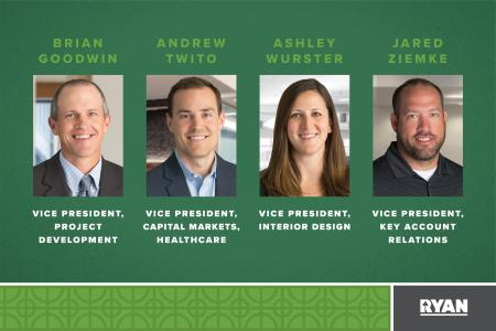 Ryan Companies Promotes Four to Vice President